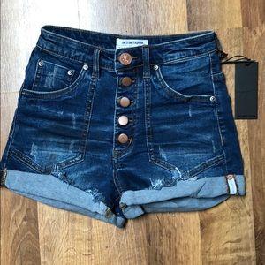 One Teaspoon Shorts - One Teaspoon Harlets sz 26 Bonnie Blu